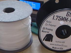 Basic filament spool for flashforge creators.