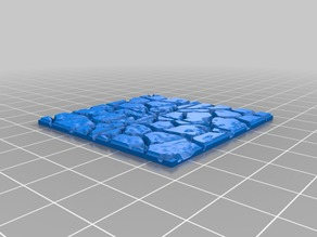 Cobble Floor for OpenForge magnetic base