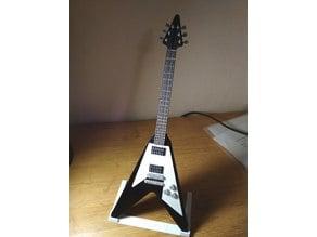 Gibson Flying V mini guitar model