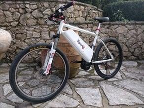 E-Bike battery housing
