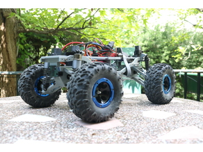 MyRCCar 1/10 Monster /Crawler Chassis with Configurable 270 to 330mm Wheelbase