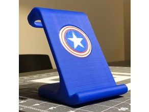 $10 IPhoneX Wireless Charging Stand - Captain America