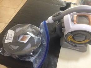 Vacuum adapter for filament storage in ziploc bags