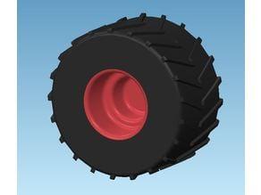Hot Wheels Monster truck Wheel (Cheap replacment)