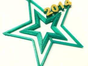 Simple Star Ornament