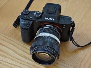 Minolta SR/MC/MD Lens To Leica M Body (Techart Pro LM-EA7) Adapter