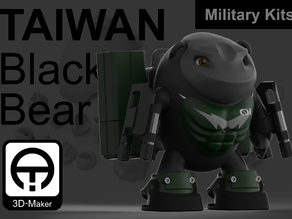 Taiwan Black_bear Military [Only Equipment]