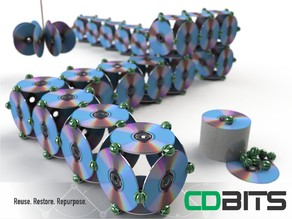 CDBITS | Expandable, modular CD and DVD connectors.