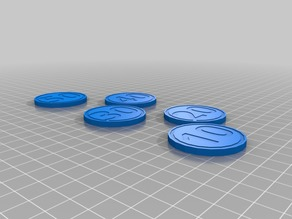 Simple Poker Chips