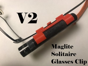 Maglite Solitaire Glasses Clip