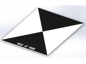 GCP Photogrammetric Target.