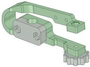 MendelMax adjustable Z axis end stop