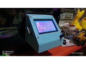 Anycubic 4Max [操作台]LCD  table BOX