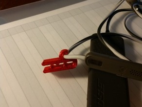 Customizable Headphone Cord Gripper