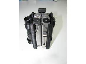 Configurable Leatherman Wave Holster with Anti-lost Lock