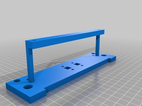 Anycubic i3 Front base plate
