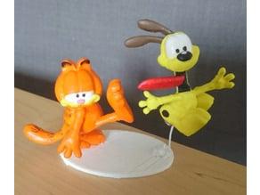 Garfield kicks ODIE