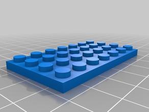LEGO 7x4
