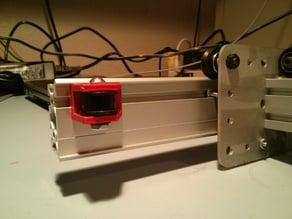 MakerSlide/(T-slot 20mm) Pulley Bracket