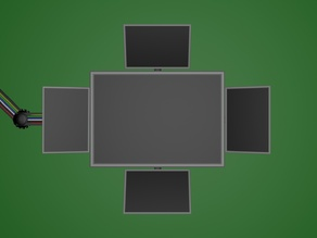 drop down screen footage (green screen)