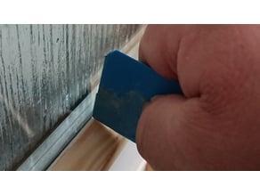 silicone scraper / acrylic scraper