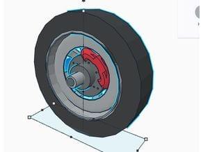 BBS style wheel