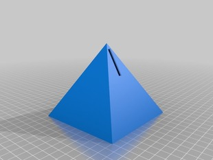 Pyramid Piggy Bank