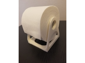 Upright Toilet Paper Stand
