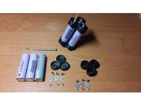 18650 battery 3 cel