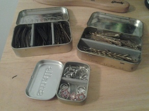 Altoids Tin Dividers Collection