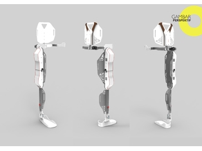CRE-008 Lower Limb Exoskeleton - Huced Despro ITS