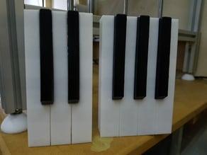 Coat Hanger Piano full keys