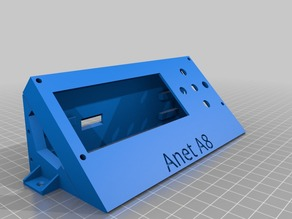 Anet A8 - External lcd enclosure v3.2