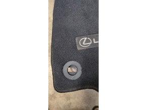 Lexus IS Floor Mat Plug