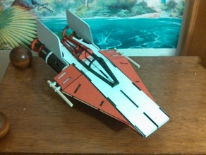 Star Wars A-Wing Interceptor