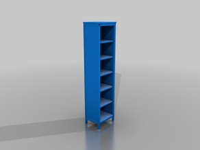 IKEA HEMNES short library