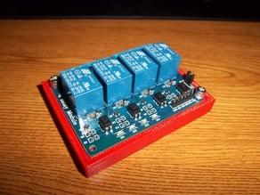 Boite pour 4 relais Arduino.