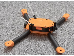 Axel's 3D printed FPV quadcopter (carbon fiber arms)