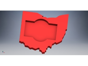 State of Ohio Business Card Holder