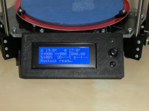 Rostock LCD housing for smart controller