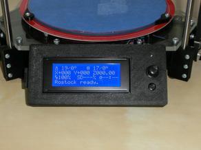 Rostock LCD housing for smart controller