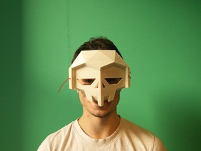 Low-Poly Halloween Mask by Flowalistik