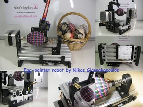 Niko's Egg-painter robot (OpenBuilds)