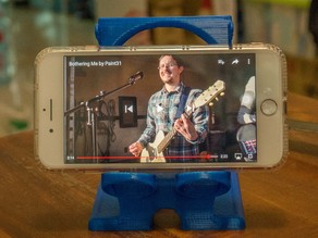 "Large Smart Phone Stand (The ""Hustle Stand PLUS"")"