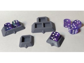 Customizable D6 Holder (Multi-dice)