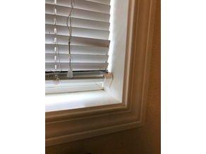 Window blind clip
