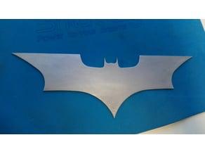 Iron Batarang CNC