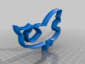 Rob-9-Shark Cookie Cutter