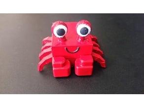 3D Block Zoo Crab