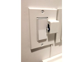 IOT Mechanical Light Switch (Rental Friendly)